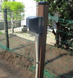 熊谷市Y様邸充電用屋外コンセント工事